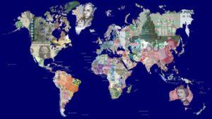Carte du produit intérieur brut mondial et par pays