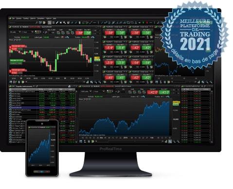 ProRealTime Trading meilleur broker